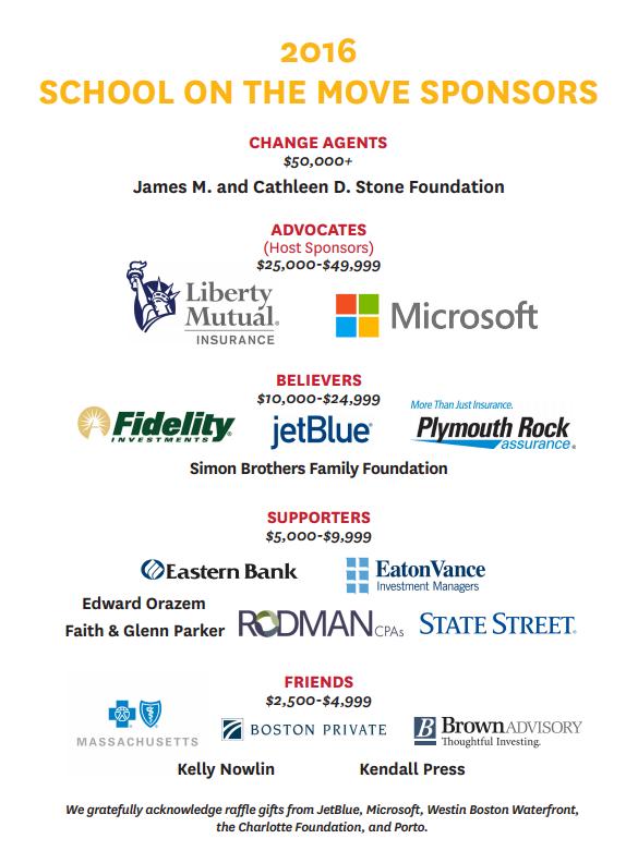 2016 SOM Sponsors